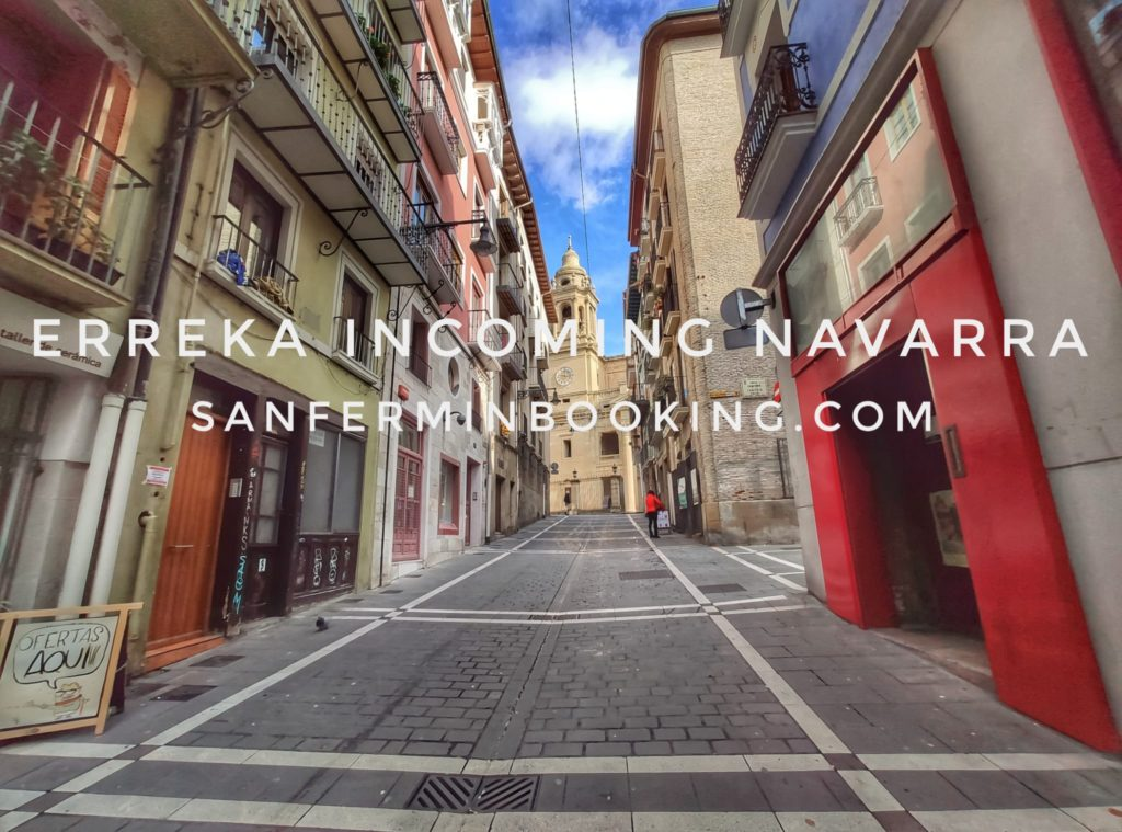 San Fermín booking Incoming Navarra